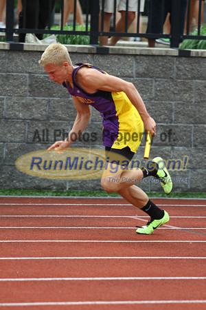 D1 Boys 4x200 Relay - 2013 MHSAA LP Track and Field