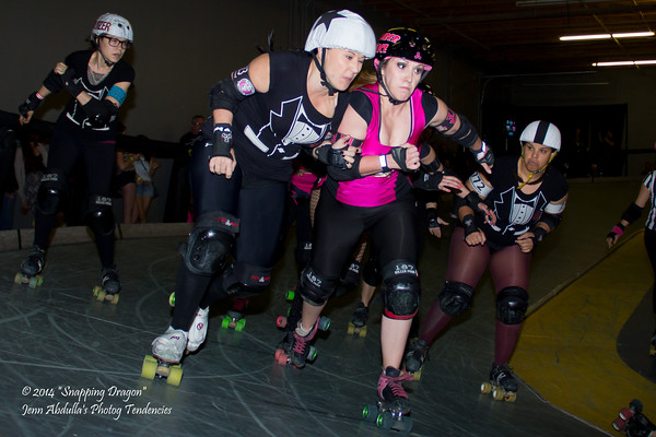 AZDD Brutal Beauties v Runaway Brides 3-2014