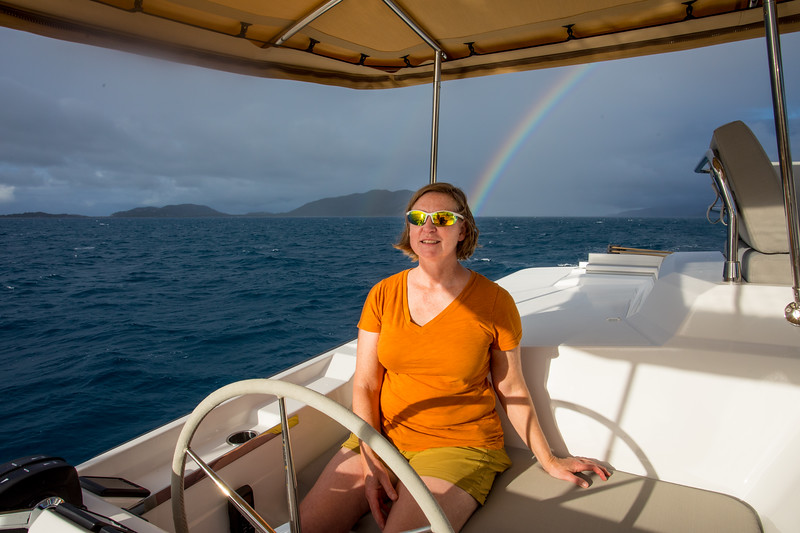 Linda tests the autopilot and we know who the pot of gold is at the end of the rainbow!