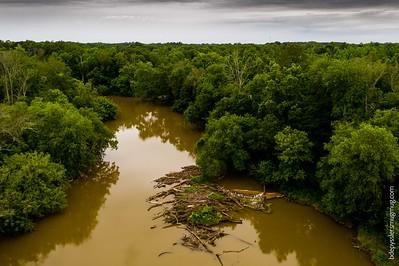 haw river by drone (in progress) ~ 6.05.2019