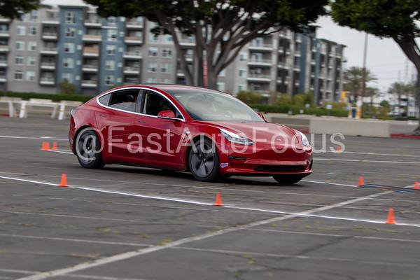 Custom Gallery - Red Tesla Model 3