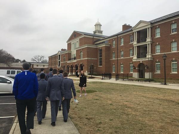 Cadets visit Randolph-Macon College