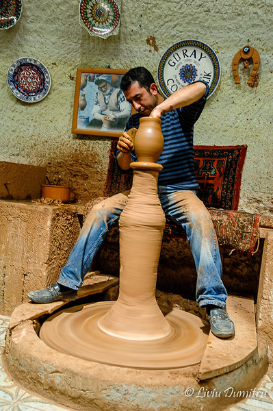 Short visit at a pottery workshop