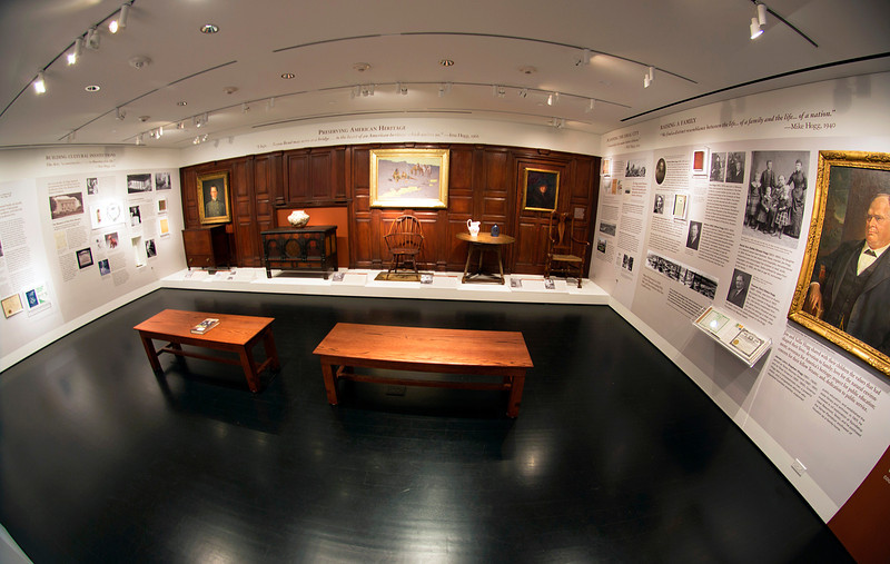 The Hogg Family Room in Bayou Bend's Education Center