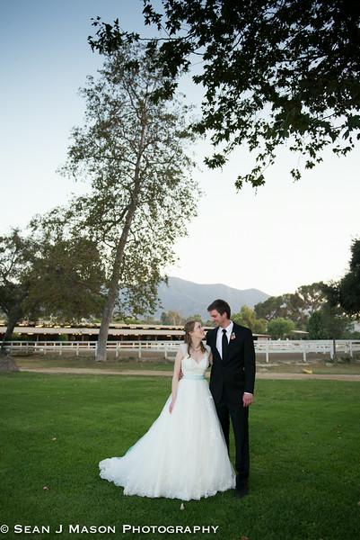 Valerie & Dylan Calamigos Equestrian Wedding