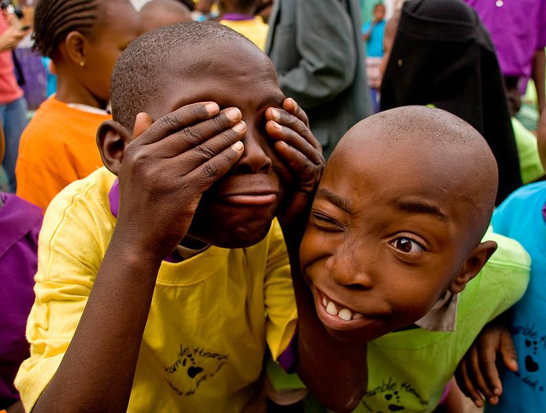 """Class clowns"", Humble Hearts School for the Deaf, Nairobi, Kenya."