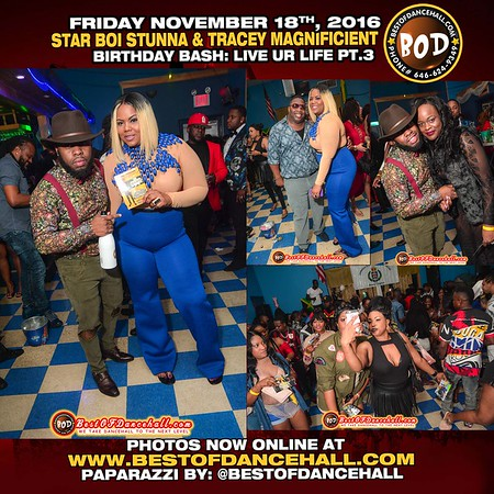 11-18-2016-BRONX-Starboi Stunna From Reaktion And Tracy Magnificent Birthday Bash Live Ur Life Pt.3