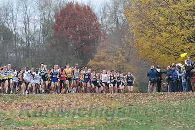 Men's Start - 2017 NCAA D1 XC National Championship