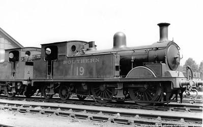 Adams LSWR Class T1 0-4-4T
