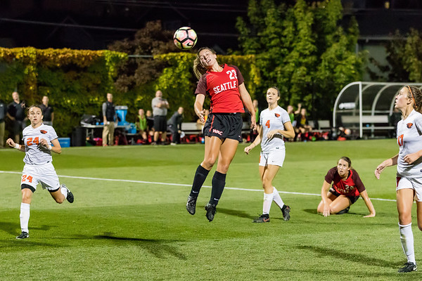 2017 Seattle U Women's Soccer vs Oregon State