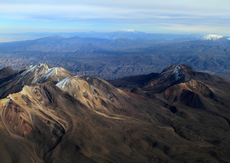 Flying to Cusco