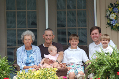 Visit with Great Grandmother in Nashville