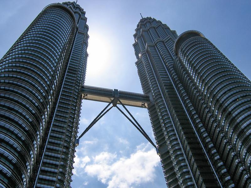 Petronas Towers, Kuala Lumpar Malaysia, 2004