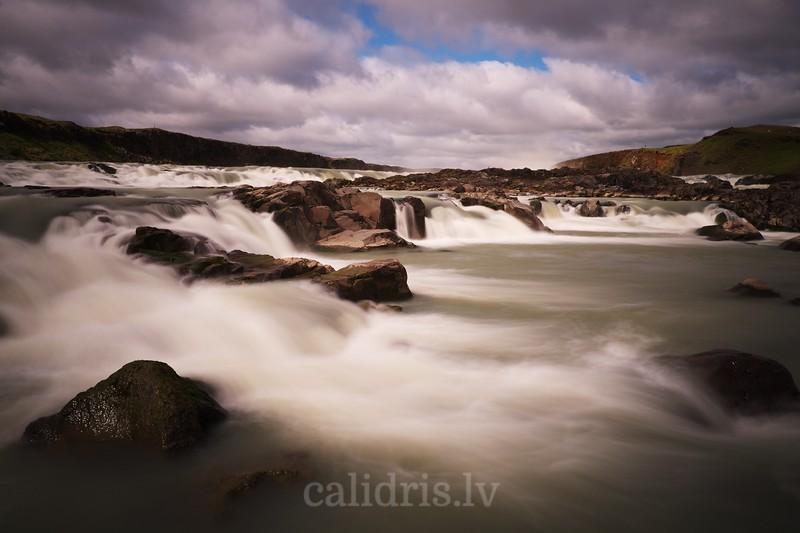 Þjórsá, waterfall, river, ups, udenskritums, Islande