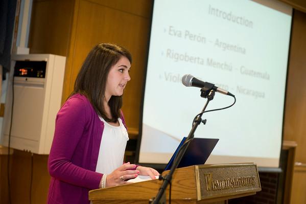 Honors Presentations, Spring 2011