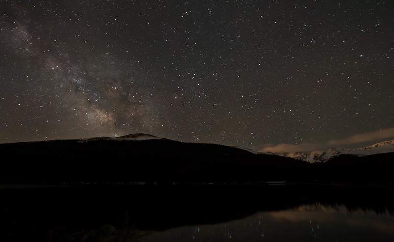 Frankieboy Photography    Lake, Mountains, And Milky Way   Echo Lake Colorado