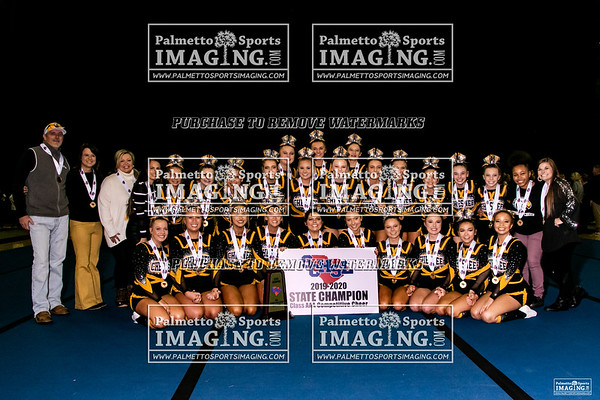Chesnee-2019 State Cheerleading Championship