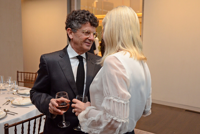 Michael Gross, Jeannie Woodbrey AVENUE MAGAZINE Presents the SALON DINNER & CONVERSATION about PUBLIC ART Featuring YVONNE FORCE VILLAREAL 10 Hudson Yards NYC, USA - 2017.04.06 Credit: Lukas Greyson