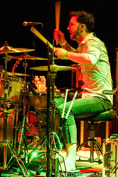 Andrew Cook of A Rocket To The Moon performs at State Theatre in St. Petersburg, Florida on March 24, 2010