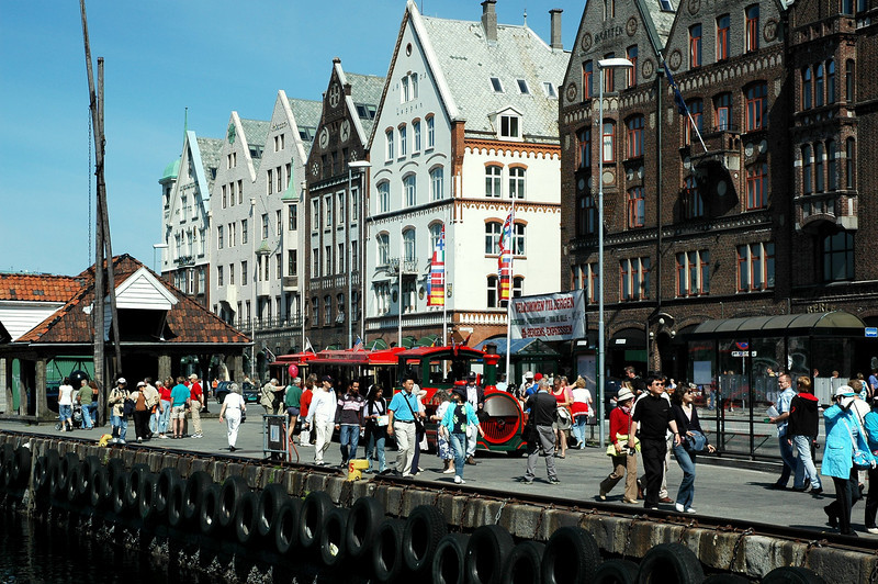 Bryggen, Bergen.