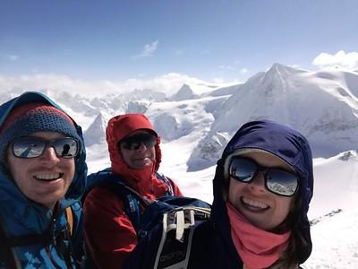 Cabane des Dix and La Luette Ski Tour, 2017