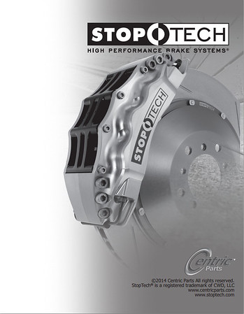 Stoptech 2014 catalog