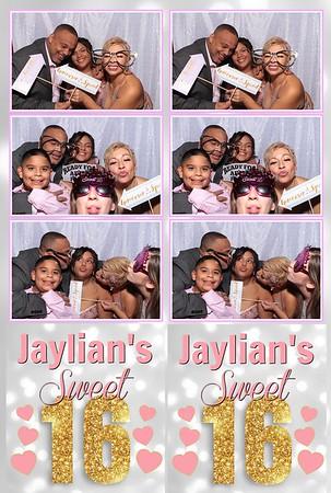 Jaylian's Sweet Sixteen