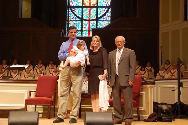 Baby Dedication May 2011