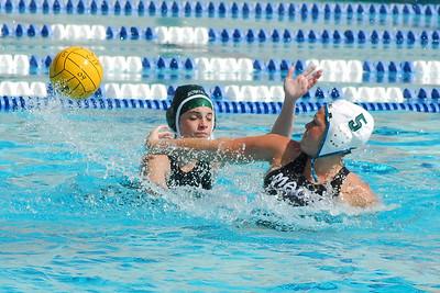 CIF SS Girls Water Polo D6 Finals 2009 - Bonita High School vs Malibu 2/28/09. Final score 9 to 5. BHS vs MHS. Photos by Allen Lorentzen.
