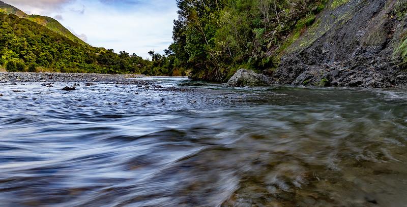«Orongorongo River» im «Rimutaka Forest Park»