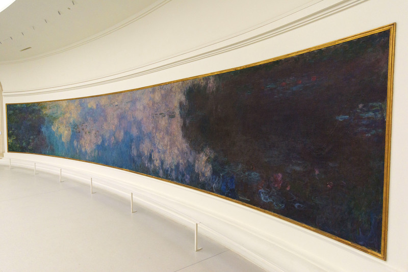 Claude Monet, The Water Lilies - The Clouds, 1920–1926