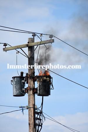 LEVITTOWN FD TRANSFORMER FIRE 6-19-15