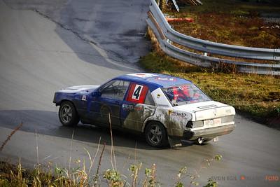 Bilcross Vikedal motorbane 21. oktober 2012