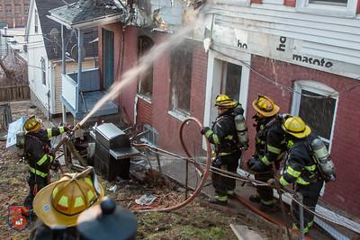 2 Alarm Dwelling Fire - Groton Pl, Worcester, MA -2/23/20