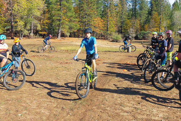 2018 NU Mountain Bike Team Clinic