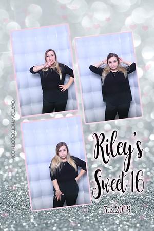 3 2 19 Riley Sweet 16