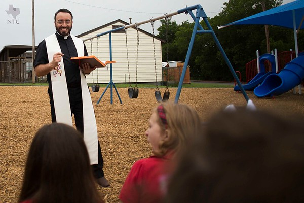 St. Peter the Apostle playground blessing