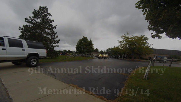 9th Annual Skidmore/Berry Memorial Ride 9/13/14