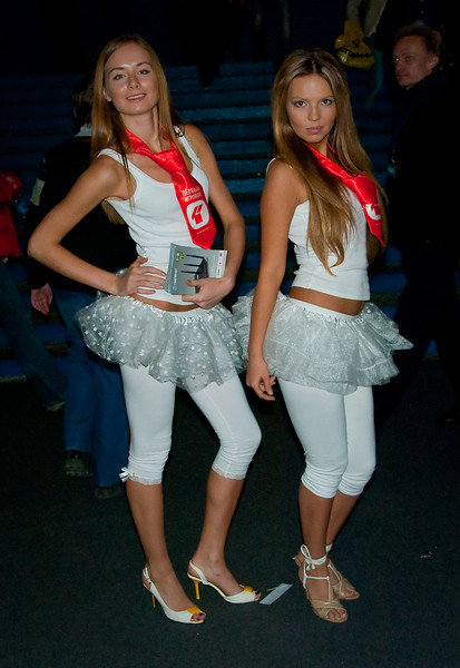 1st gaming TV girls at Igromir 2009