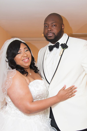 The Wedding of Jasmine Turner and Marquis Jordan