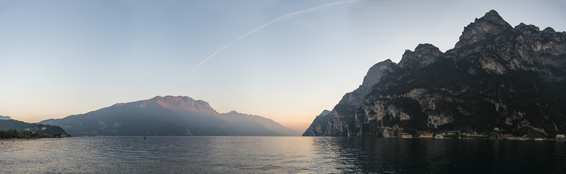 Lake Garda - Riva del Garda, Trento, Italy - October 30, 2016