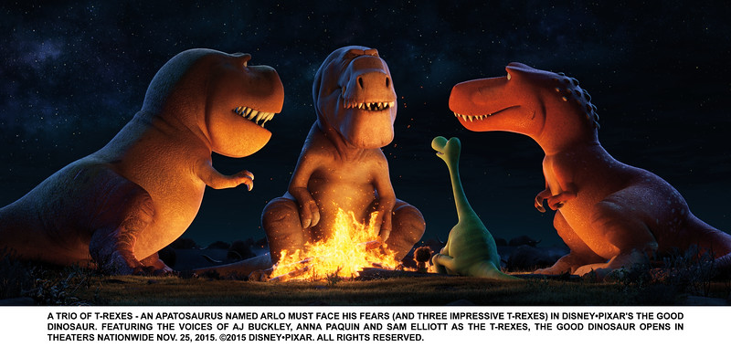 Newest trailer for THE GOOD DINOSAUR released