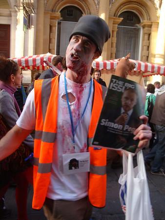 Bristol Zombie Walk in October.