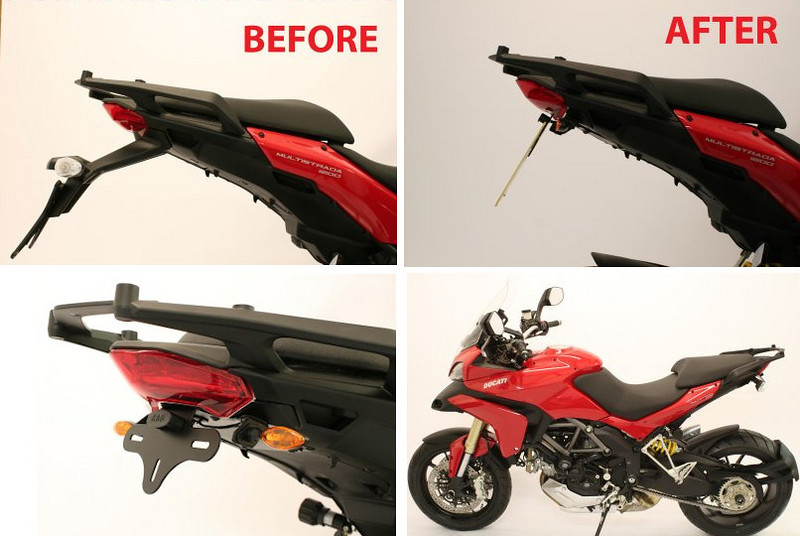 R&G Ducati Multistrada 1200 'Tail Tidy'