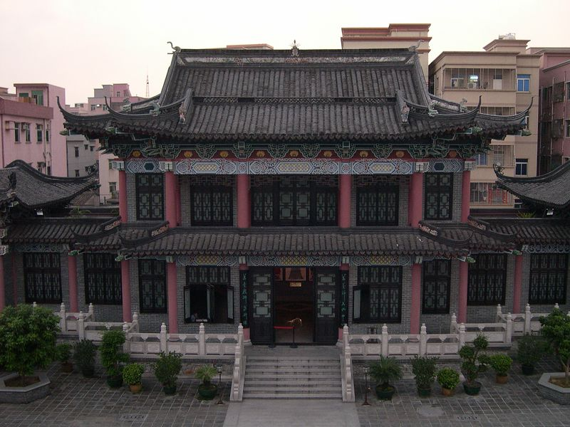 Chinese architecture at it's finest.