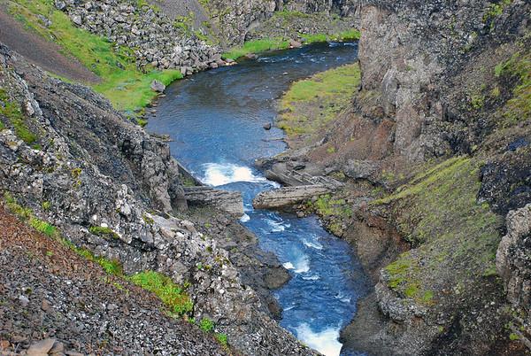 Tröllafoss - Þríhnúkar - Haukafjöll - könnunarleiðangur