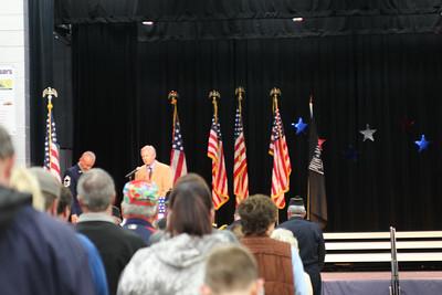 2014 Veterans Day program