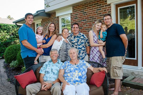 Balaura Family - Summer 2012