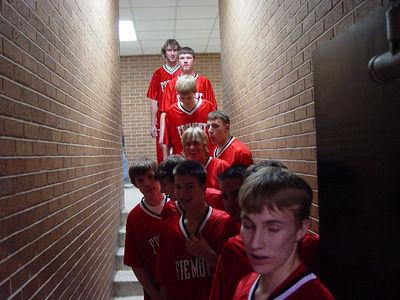 Boys Varsity Basketball - 1/18/2006 Muskegon Heights