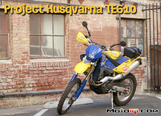 Project Husqvarna TE610 Part 5: Dual Sport Adventure Bike Day Trips